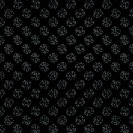 Black on Black Dotty Dot