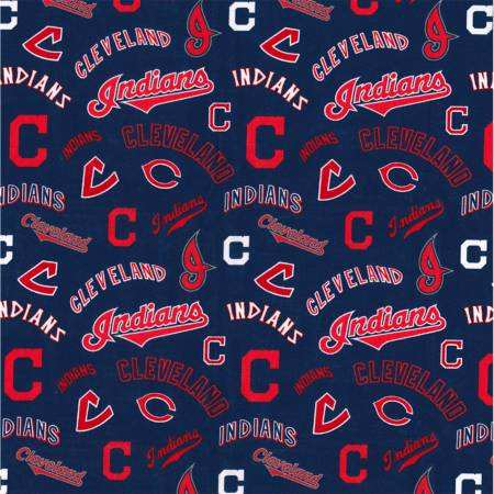 MLB Cleveland Indians on Cotton
