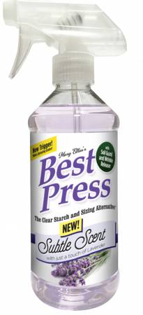 Best Press Spray Starch Subtle Scent 16oz