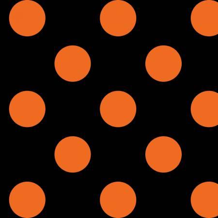 Black/Orange Dots