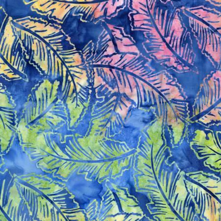 Ocean/Multi Banana Leaf Batik
