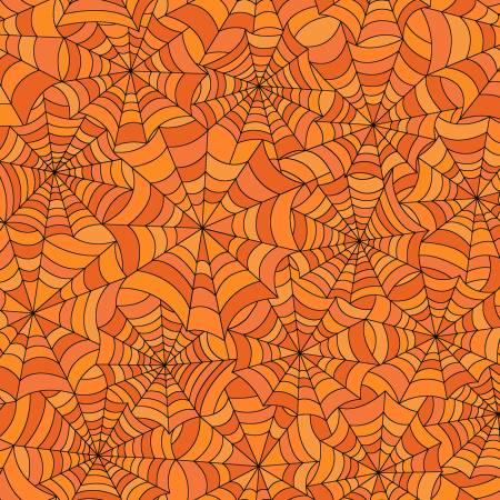 Orange Spooky Webs