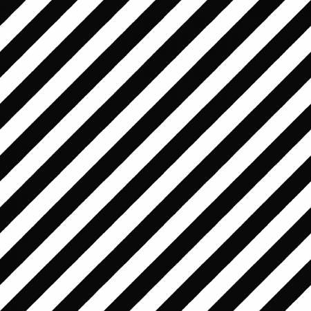 Black/White Witchy Stripe