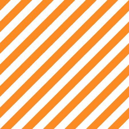 Orange/White Witchy Stripe