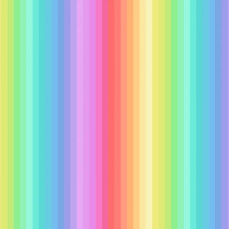 Rainbow pastel stripes (digital print)