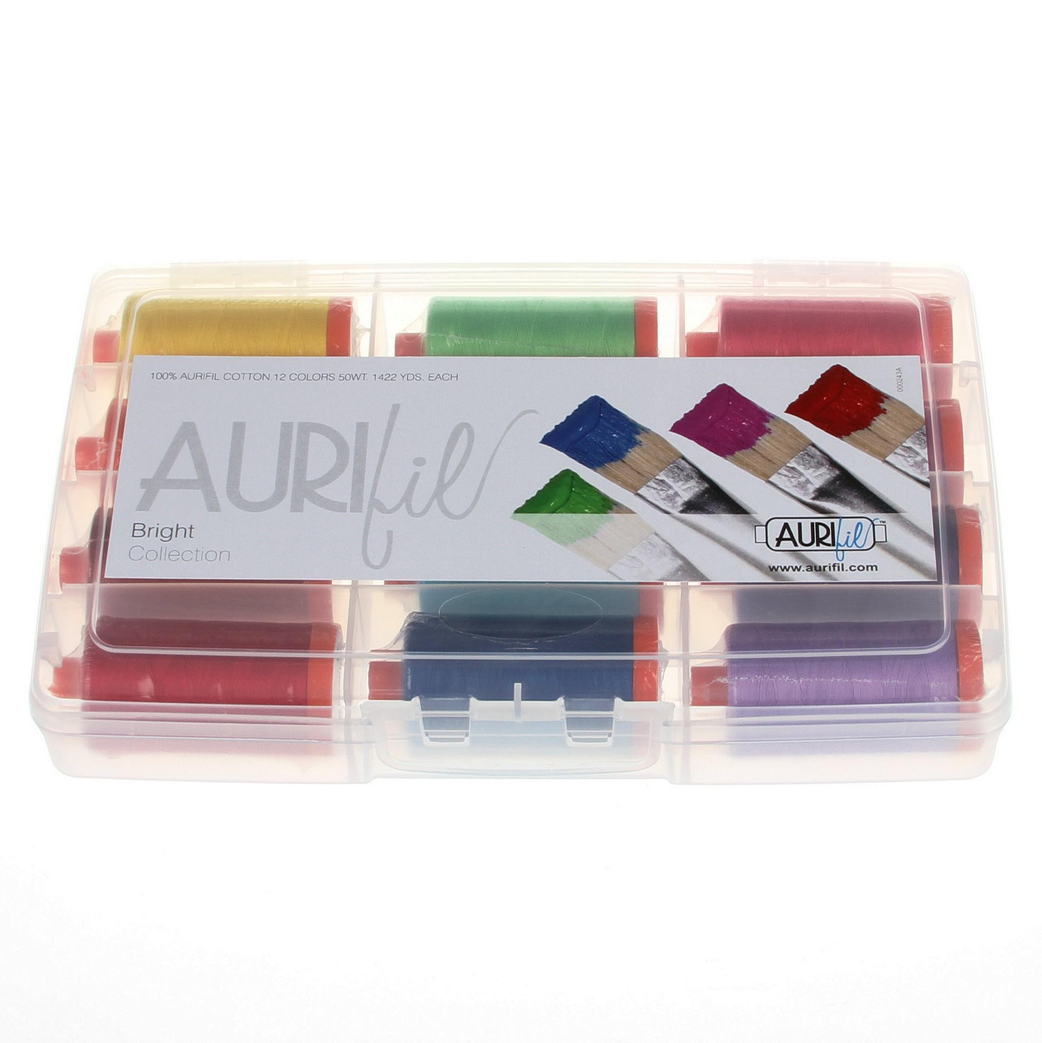 AURIFIL Hero Thread Collection 50wt 3 Large Spools AC50HC3