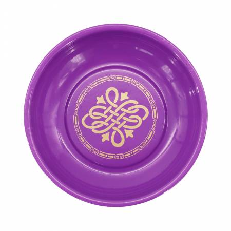Magnetic Pin Dish Purple & Gold