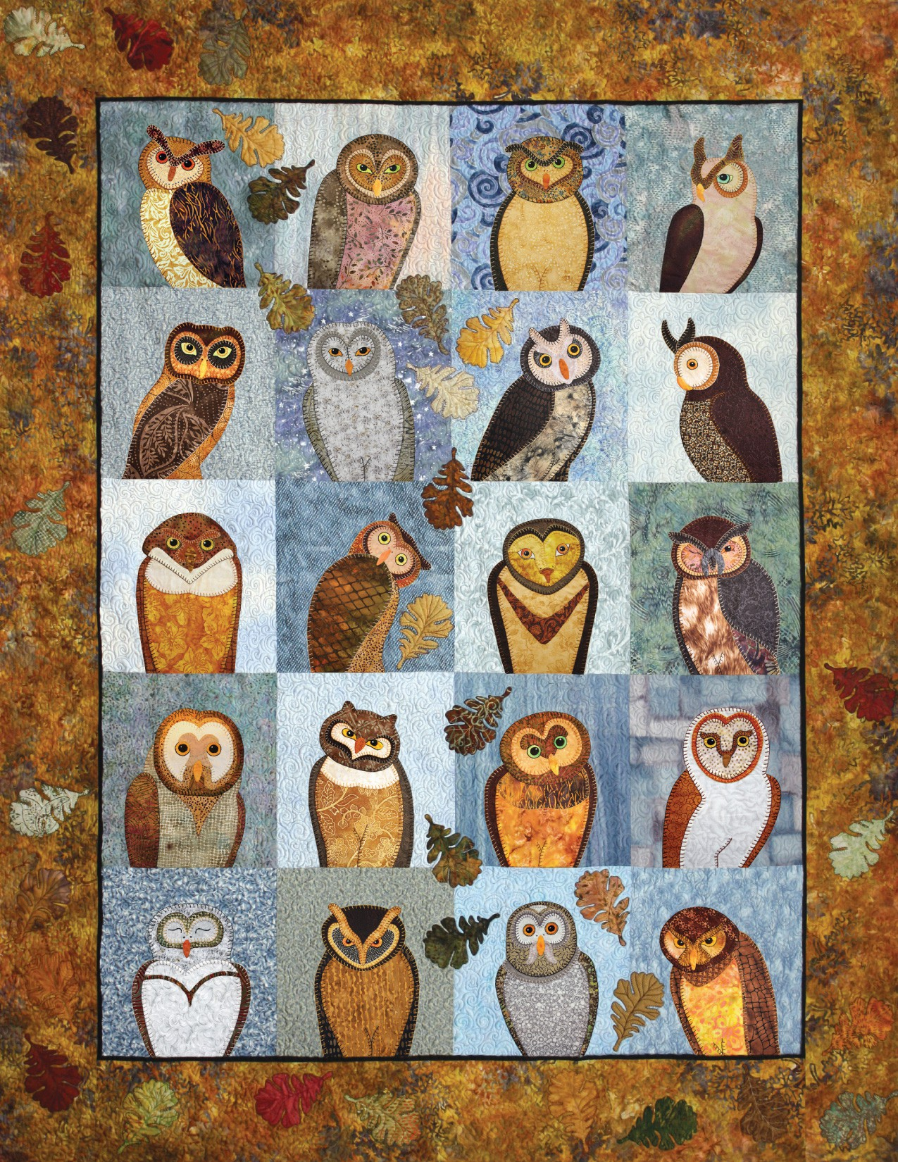 Outstanding Owls For Applique By Ashton Darcy