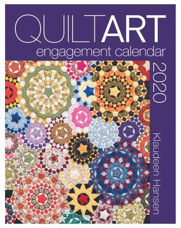 2020 Quilt Art Engagement Calendar