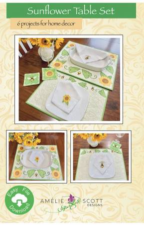 Sunflower Table Set