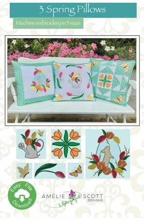 3 Spring Pillows