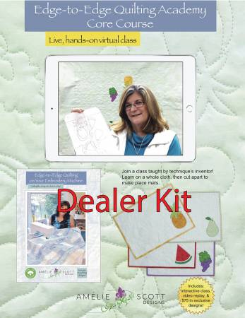 Edge-to-Edge Quilting Academy Core Dealer Kit