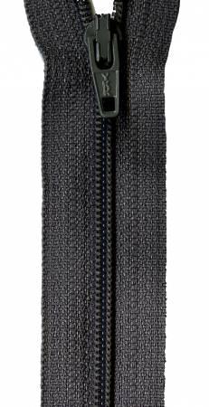 14in Bulk Zipper Charcoal