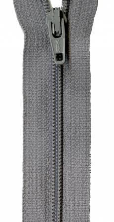 22in Zipper 6 per pack Grey Kitty