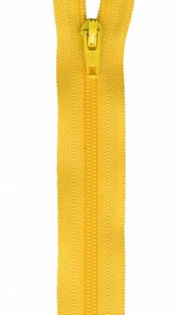22in Zipper 6 per pack Dandelion