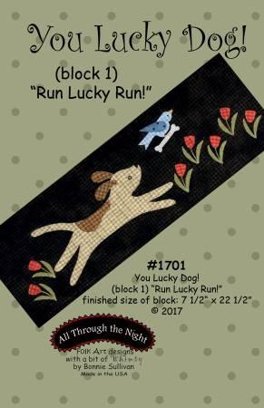 You Lucky Dog 1 Run Lucky Run Block of the Month