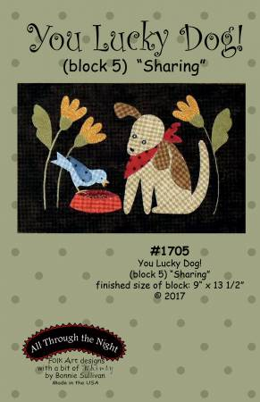 You Lucky Dog 5 Sharing Block of the Month