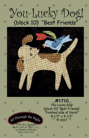 You Lucky Dog 10 Best Friends Block of the Month