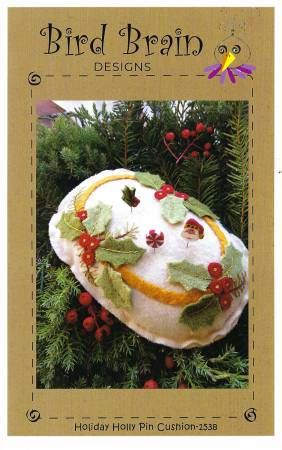 Holiday Holly Pin Cushion