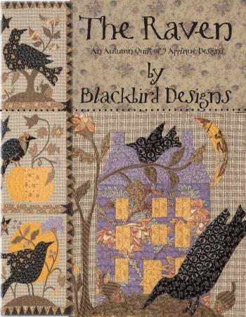 Raven - An Autumn Quilt of 9 Applique Designs