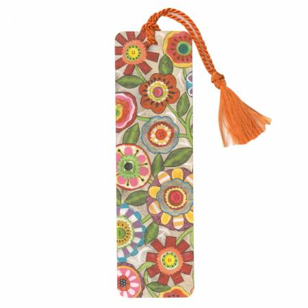 Bookmark Abstract Flowers