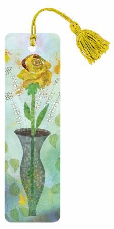 Yellow Rose Bookmark