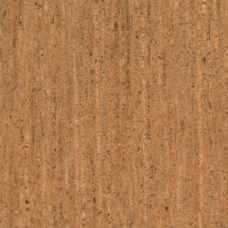 Prepacked Cork Blend Fabric, 18in x 15in roll, Natural Pattern