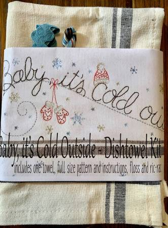 Baby, It's Cold Outside Dishtowel Kit