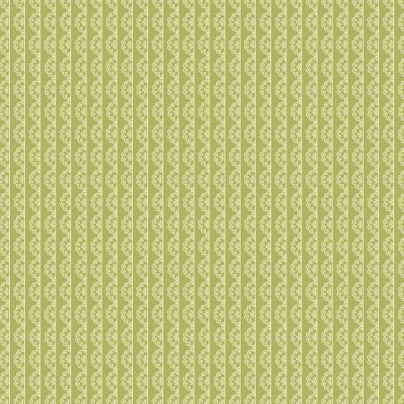 Adel In Spring Lace Stripe Asparagus