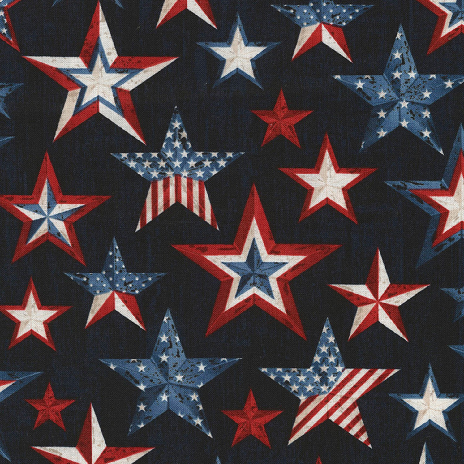 Timeless Treasures American Pride C5565 USA Fireworks BTY COTTON