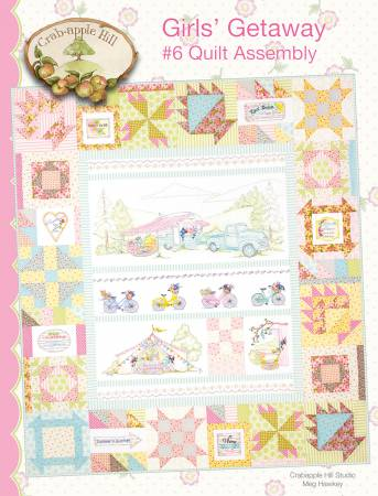 Girls' Getaway 6 Assembly Quilt
