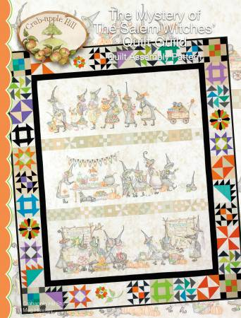 Mystery Of The Salem Quilt Guild - Quilt Assembly