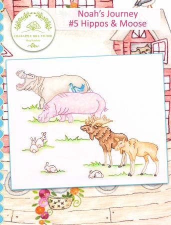 Noah's Journey #5 Hippos & Moose