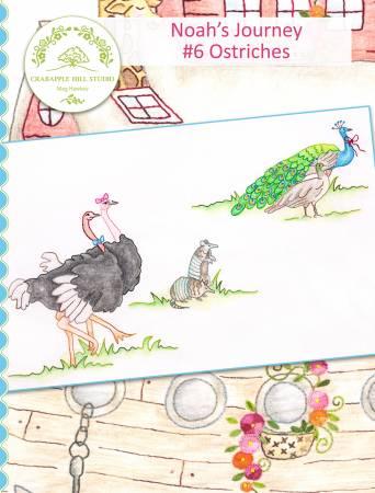 Noah's Journey #6 Ostriches