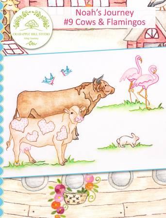 Noah's Journey #9 Cows & Flamingos