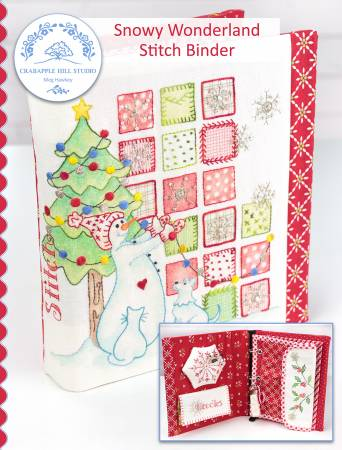 Snowy Wonderland Stitch Binder