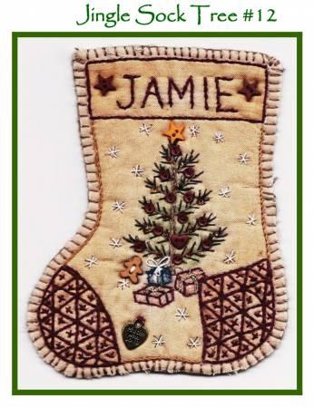 Jingle Sock Christmas Tree