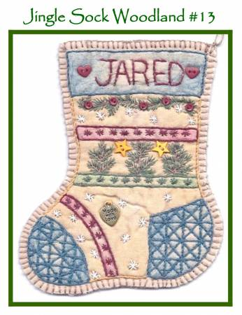 Jingle Sock Woodland