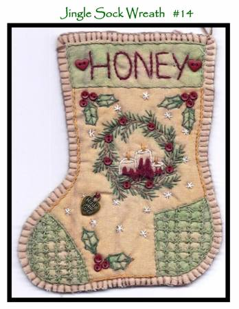 Jingle Sock Wreath