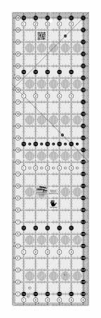 Creative Grids Left Handed Quilt Ruler 6-1/2in x 24-1/2in