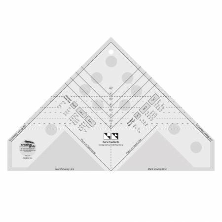 Creative Grids Cats Cradle Ruler XL