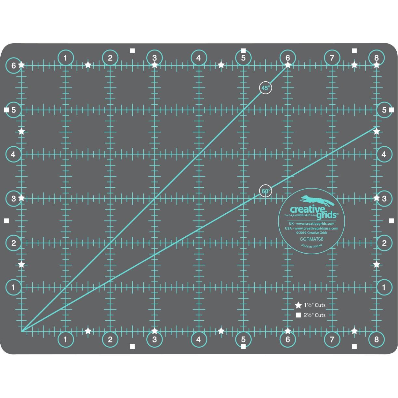 Creative Grids Cutting Mat 6in X 8in By Erla Gudrun