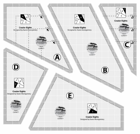Creative Grids Crazier Eights Template