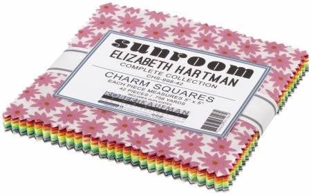 5in Squares, Sunroom, 42pcs/bundle