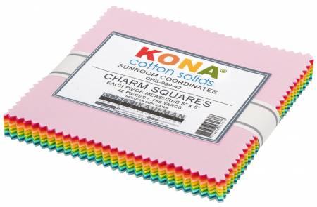 5in Squares, Sunroom Kona Coordinates, 42pcs/bundle