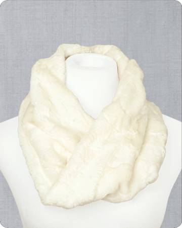 Infinity Scarf Kit Hide Natural 19in x 36in