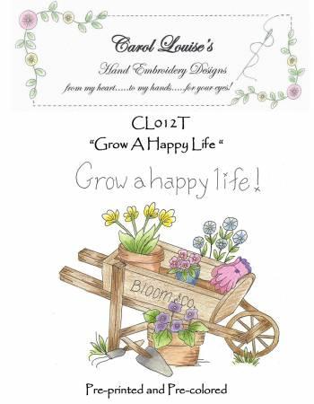 Grow a Happy Life - Tea Dye