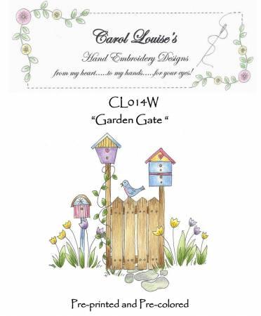 The Garden Gate - White