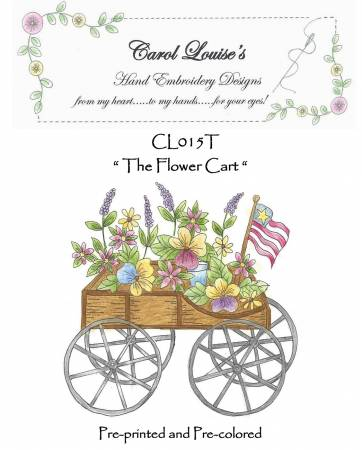 Flower Cart - Tea Dye