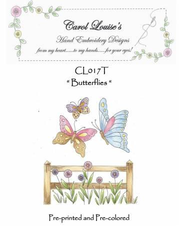 Butterflies - Tea Dye
